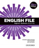 English File Third Edition Beginner Workbook without key