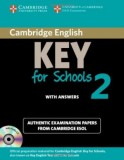 Cambridge english key for schools 2 student's book with answers and audio cd