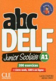 abc DELF Junior Scolarie A1 + DVD + Livre-web