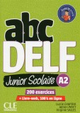 abc DELF Junior Scolarie A2 + DVD + Livre-web