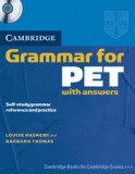Grammar for pet with answers + cd