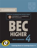 BEC Higher 4 Student's Book with answers