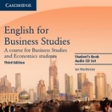 English for Business Studies 3rd Edition audio Cds