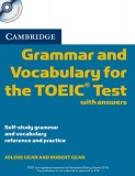Grammar and vocabulary for the toeic test with answers + cd