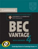 BEC vantage 4 Student's book with answers