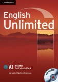 English unlimited starter self-study pack