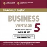 Business vantage 5 audio CD set