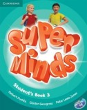 Super Minds 3 SB +DVD CAMBRIDGE