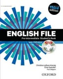 English File Third Edition Pre-intermediate Student's Book Pack (iTutor)