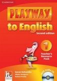 Playway to english 1 teachers resource pack with audio cd