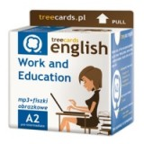 Angielski. Treecards - Work and Education A2