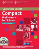 Cambridge english compact preliminary for schools  workbook without answers with audio cd