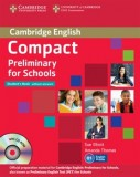Cambridge english compact preliminary for schools  student's book without answers with cd-rom