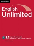 English unlimited upper intermediate testmaker cd-rom with audio cd