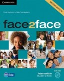 Face2face intermediate student's book + dvd-rom