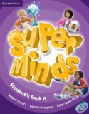 Super minds 6 student's book + dvd-rom