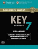 Cambridge english key 7 student's book with answers and audio cd