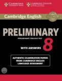 Cambridge english preliminary 8 student's book with answers and audio cds