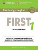 Cambridge english first 1 student's book without answers