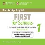 Cambridge english first for schools 1 audio cd's