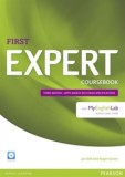 First Expert Coursebook with MyEnglishLab + CD