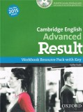 Cambridge english advanced result workbook resource pack with key