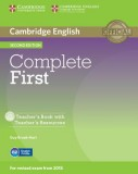 Complete first teacher's book with teacher's resources with cd-rom
