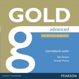 Gold Advanced Class Audio CDs with 2015 exam specifications