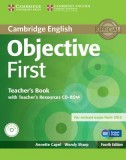 Objective first teacher's book with teacher's resources cd-rom