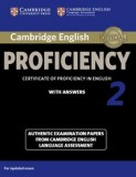 Cambridge English Proficiency 2 for updated exam with answers