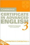 Certificate in advance english 3 cassette