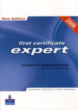 First certificate expert student's resource book with key and audio cd