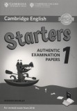 Cambridge English, Starters 1. Authentic, Examination, Papers. Answer Booklet