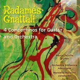 Radamés Gnattali: 4 Concertinos for Guitar and Orchestra