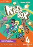 Kid's Box Second Edition 4 Flashcards