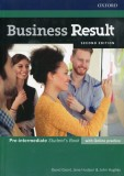 Business Result 2E Pre-intermediate Student's Book with online practice