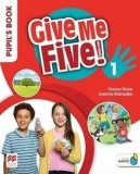 Give Me Five! 1 Pupil's Book