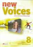 Voices New 8 WB MACMILLAN