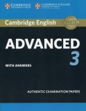 Cambridge English Advanced 3 with answers