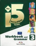 The Incredible 5 Team 3 Workbook and Grammar+Digibook