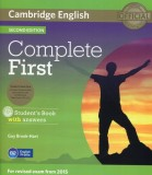 Complete First Student's Book with answers + 3CD