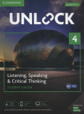 Unlock 4 Listening, Speaking & Critical Thinking Student's Book