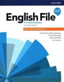 "English File 4E Pre-Intermediate Student""s Book with Online Practice"