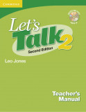 Let's Talk 2 Teacher's Manual 2 with Audio CD