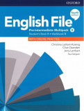 English File 4E Pre-Intermediate Multipack B +Online practice