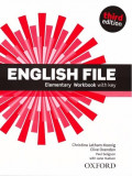 English File 3E Elementary Workbook with Key