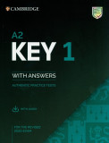 A2 Key 1 for the Revised 2020 Exam Authentic practice tests with Answers with Audio