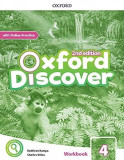 Oxford Discover 2nd Edition 4 Workbook with Online Practice