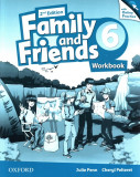 Family and Friends 6 Workbook with Online Practice