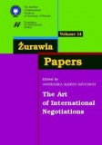 Żurawia Papers 14 The Art of International Negotiations